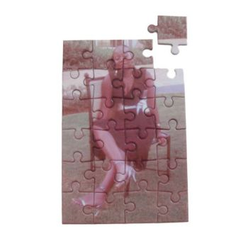 Personalised Glossy Jigsaw Puzzle 11x16.5cm - 24pcs